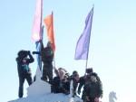 Взятие снежного городка в с. Сухобузимское